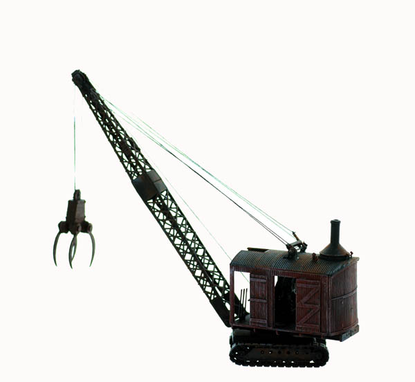 Ho Scale Detail The 1920 A 50 S Era Logging Crane With