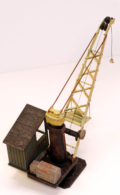 O Scale Industrial Crane W Operators Cab Kit