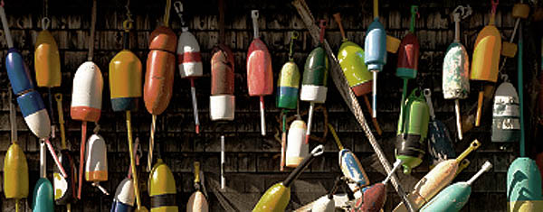HO Scale Waterfront Details, Lobster Buoys, 10 Pack, unpainted