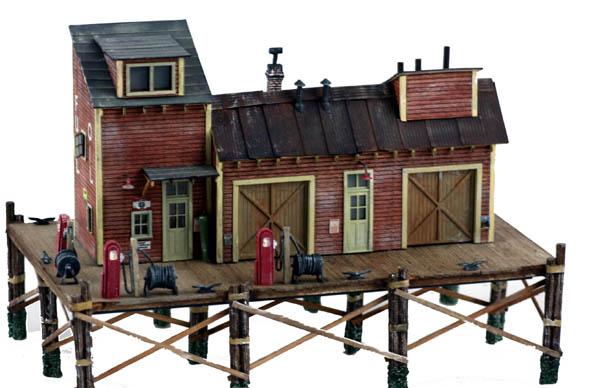 Ho scale wood model kits japan