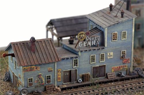 N scale pre built structures oklahoma