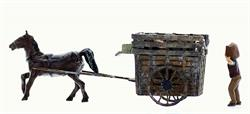HO Horse Trash Wagon Kit