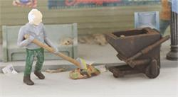 HO scale Figures, HO gauge people, HO scale Details, HO scale Trash