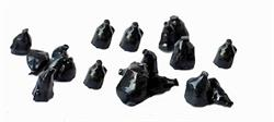 N gauge trash bags