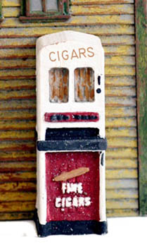 S Scale 1930 S 50 S Era Vending Machines Cigar Machine 2 Pack