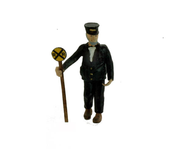 N Scale People, The RailRoad Crossing Guard, Finished