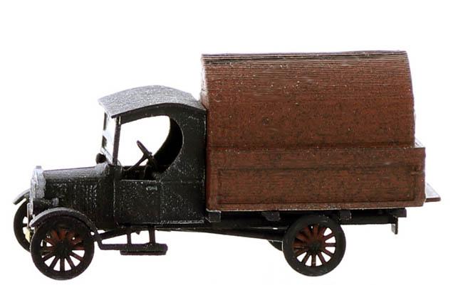 Ho Scale Vintage Vehicles Garbage Truck