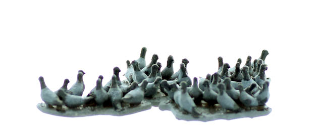 Ho Scale Birds