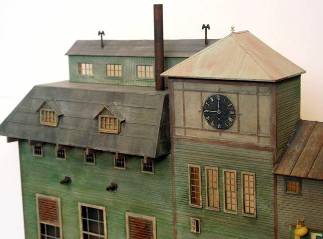 3d Background Ho Scale Industrial Factory 5 Scene