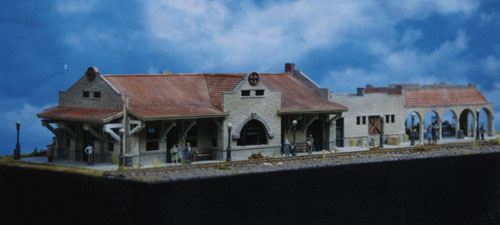 Ho Scale Kit Mission Style Classic Passenger Station