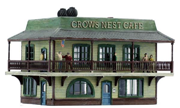 HO Scale Kit CROWES NEST CAFE - Roadside or Waterside