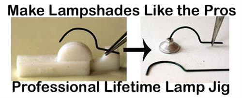 O scale lampshade jigke perfect gooseneck lamps like the pros aloadofball Images