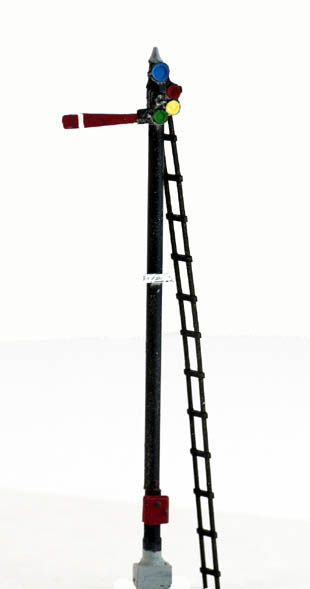 Ho Scale Semaphore Tower Trackside Detail Kit