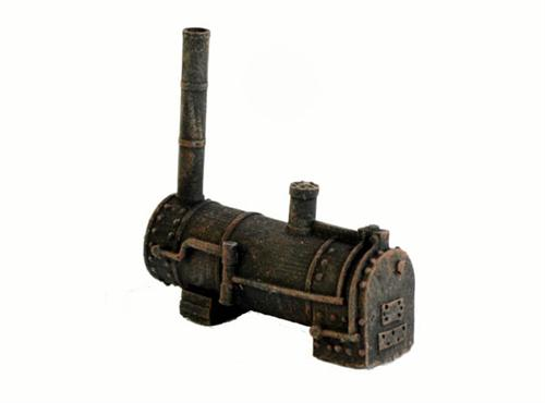 HO Scale OLD STEAM BOILER, Rustic old boiler come PRE AGED