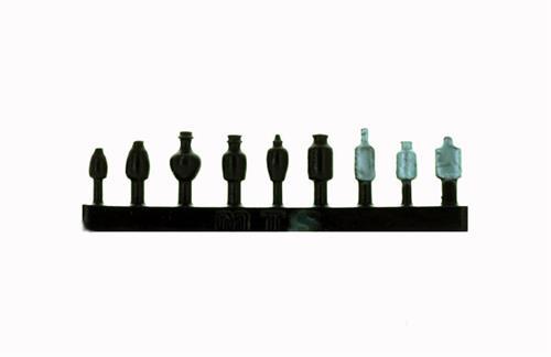 HO Scale Details MOONSHINERS Flasks, Bottles, Jars