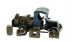 HO scale vintage vehicle Moonshine truck