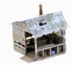HO Scale Railroad Structure and Building Kits
