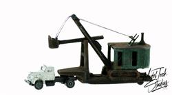 DRAGLINE Industrial Earth Moving Bucket comes Painted for you HO Scale
